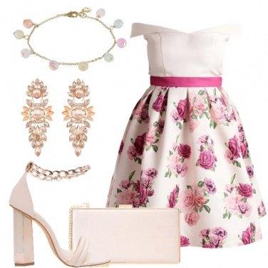 Outfit Fiori e pietre