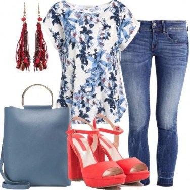 Outfit Stampa a fiori