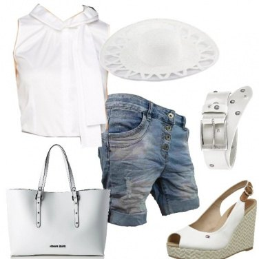 Outfit Bianco latte