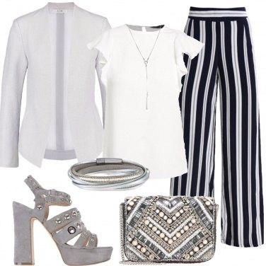 Outfit Cerimonia sobria