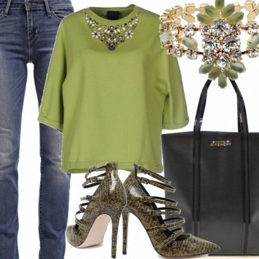Outfit Verde amore mio!