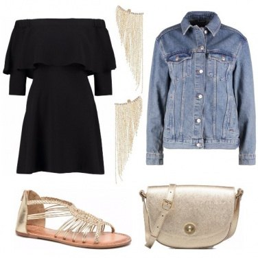 Outfit Un tocco gold
