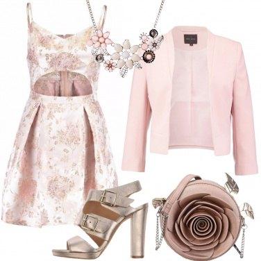 Outfit Come una rosa