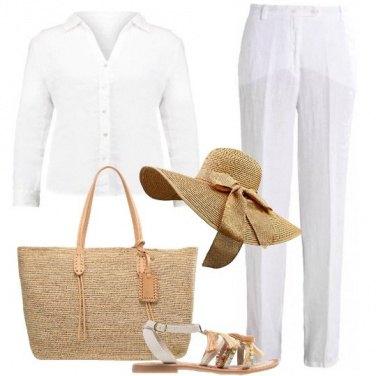 Outfit Una dama nel deserto