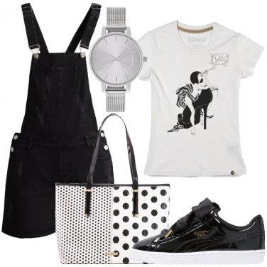 Outfit Sneakers in vernice
