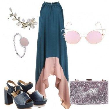 Outfit Il vestito bicolor