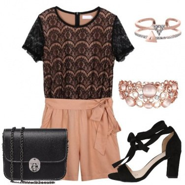 Outfit La playsuit romantica