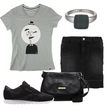 Outfit Ironiche geometrie