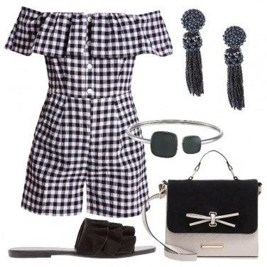 Outfit Il vichy di tendenza