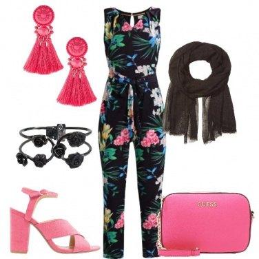 Outfit La jumpsuit a fiori