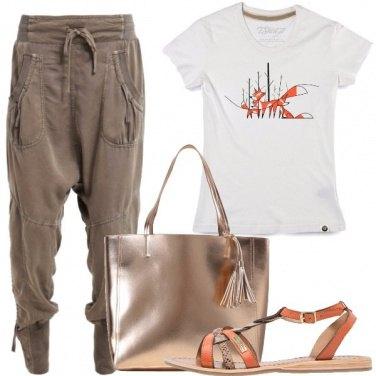Outfit T-shirt d\'autrice