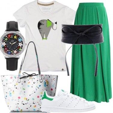 Outfit Look comodo e giovanile