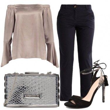 Outfit Un tocco laminato