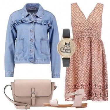 Outfit Dolce e romantico