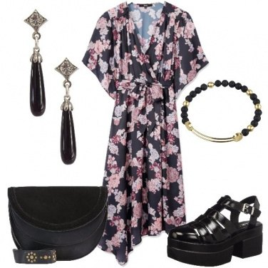 Outfit L\'abito a kimono
