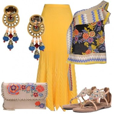 Outfit L\'India nei colori
