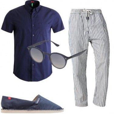 Outfit Cotone e lino