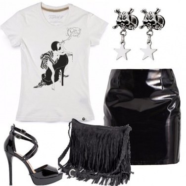 Outfit Rock tacco dodici