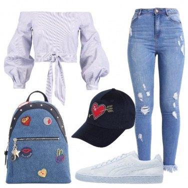 Outfit Dritto al cuore