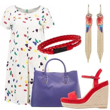 Outfit Un\'esplosione di colori