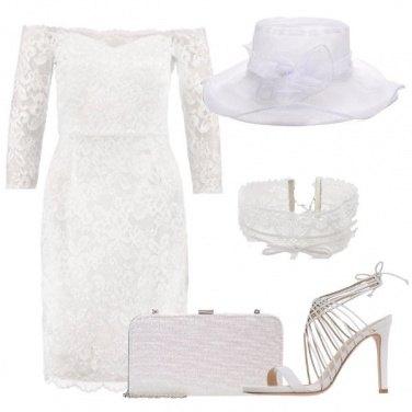Outfit La sposa con il cappello