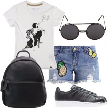 Outfit Come in un dipinto