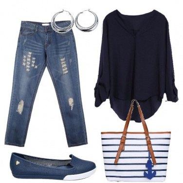 Outfit La borsa marinara