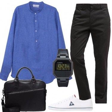 Outfit La camicia in lino