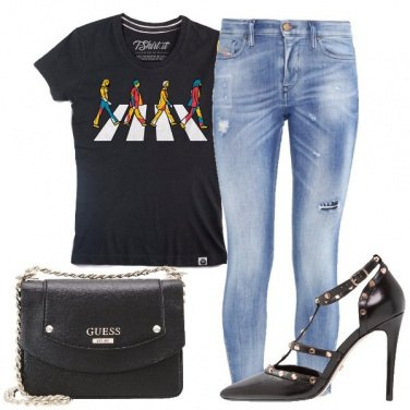 Outfit Sapore rock