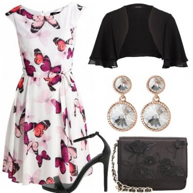 Outfit Farfalle colorate