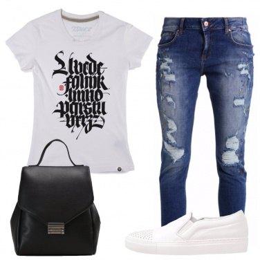 Outfit A passeggio con le sneakers
