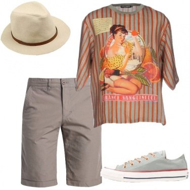 Outfit La t-shirt in lino
