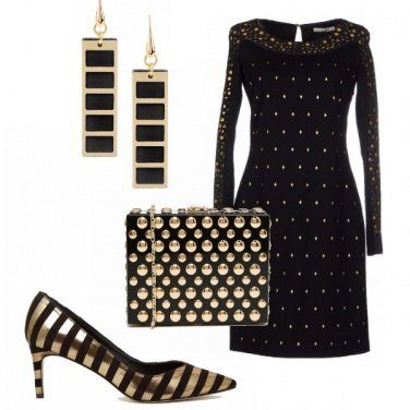 Outfit An original black&gold!