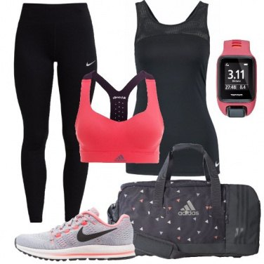 Outfit Pronta per l\'allenamento