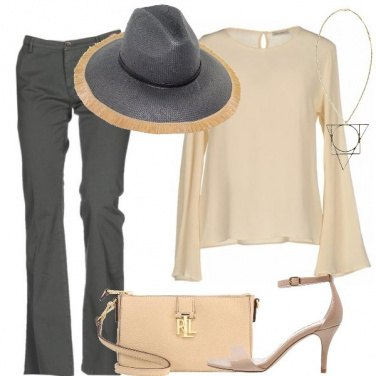 Outfit Cappello in versione chic