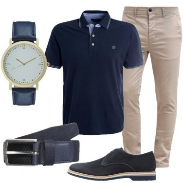 Outfit Il blu che piace