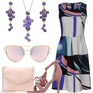 Outfit Colorata e raffinata