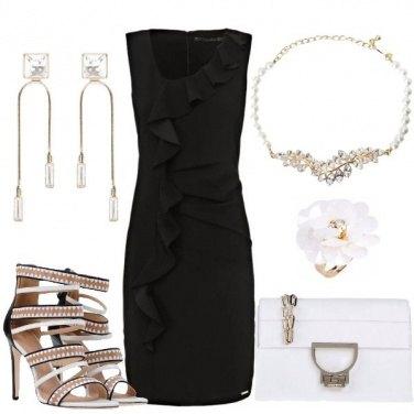 Outfit Il tubino nero