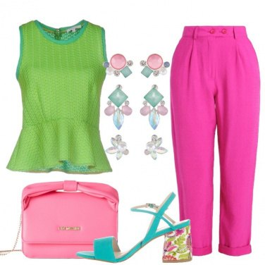 Outfit Colori shocking