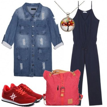 Outfit Jumpsuit in versione casual