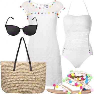 Outfit Pompon al mare