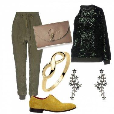 Come abbinare il pantalone raso verde opaco: 26 Outfit Donna