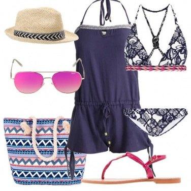 Outfit Motivi geometrici