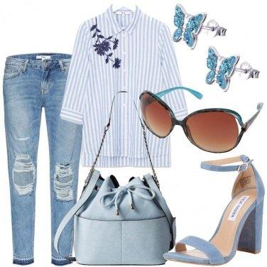 Outfit Farfalle tra i fiori