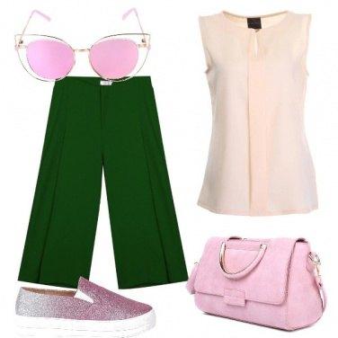 Outfit Pazza per il rosa