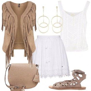 Outfit Il gilet con le frange
