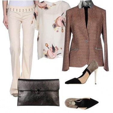 Outfit Un colore chiaro anche a natale