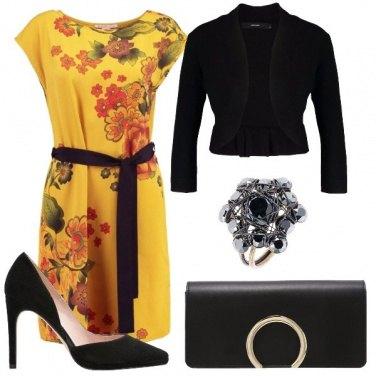 Outfit Bella con i fiori