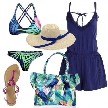 Outfit Suggestioni tropicali