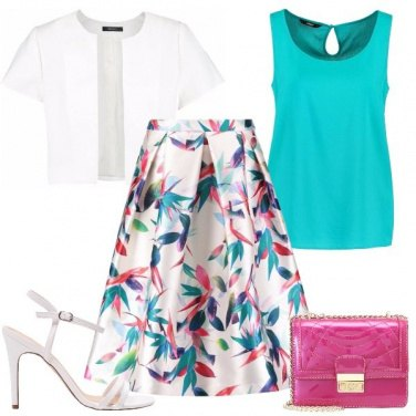 Outfit Pennellate di colore